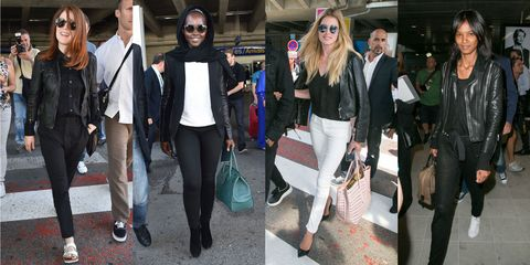 The Best in Celebrity Airport Style