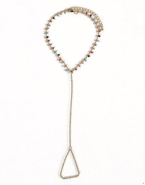 "2020 Ave Thin Multi Beaded Anklet Chain, $11&#x3B; <a href=""http://shop.2020ave.com/products/thin-multi-beaded-anklet-chain"">2020ave.com</a>