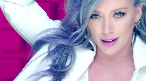 Lip, Hairstyle, Eyebrow, Eyelash, Style, Beauty, Violet, Purple, Eye liner, Eye shadow,