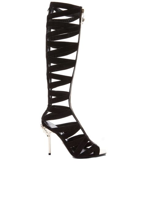 "Versace Suede Gladiator Heels, $3,177; &lt;a target=""_blank"" href=""http://rstyle.me/n/z8akcbc6jf""&gt;fwrd.com&lt;/a&gt;   <!--EndFragment-->"