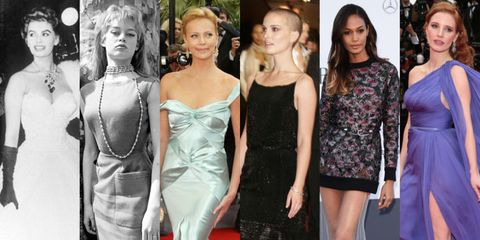 See Over 50 Years of Glamour on the Cannes Red Carpet