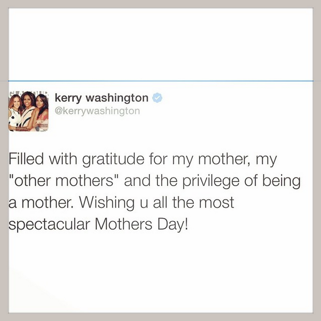 Mothers Day Celebrity Instagrams The Sweetest Celebrity Mothers
