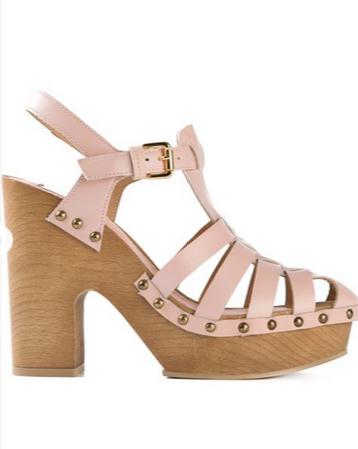 """<p>L'Autre Chose buckle clog sandals, $238; <a href=""""http://www.farfetch.com/shopping/item11001136.aspx"""">farfetch.com</a></p>"""