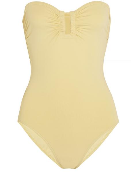 "Eres Les Essentiels Cassiopee swimsuit, $490; <a href=""http://www.net-a-porter.com/us/en/product/481281"">net-a-porter.com</a>"