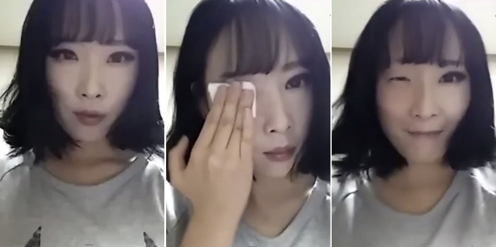 How to Remove Your Face Viral Video - No Makeup Transformation Viral