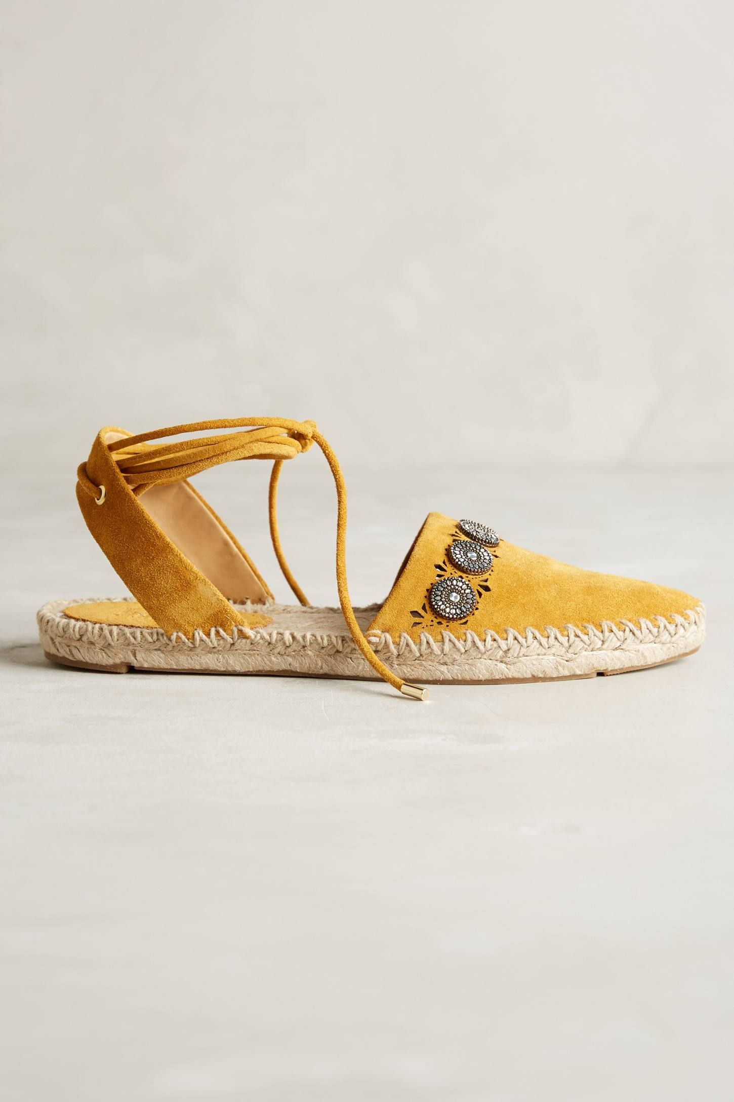 """<p>Belle by Sigerson Morrison Maia Espadrilles, $240; <a href=""""http://www.anthropologie.com/anthro/product/34545756.jsp?cm_vc=SEARCH_RESULTS#/"""">anthropologie.com</a></p>"""