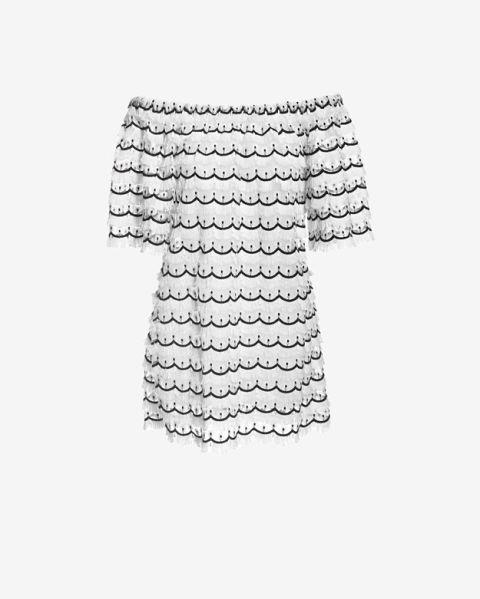 "Alexis Clemintine Peacock Feather Dress, $335; &lt;a href=""http://www.intermixonline.com/product/alexis+exclusive+clemintine+peacock+feather+dress.do?sortby=ourPicks&amp;amp;CurrentCat=105887""&gt;intermixonline.com&lt;/a&gt;   <!--EndFragment-->"