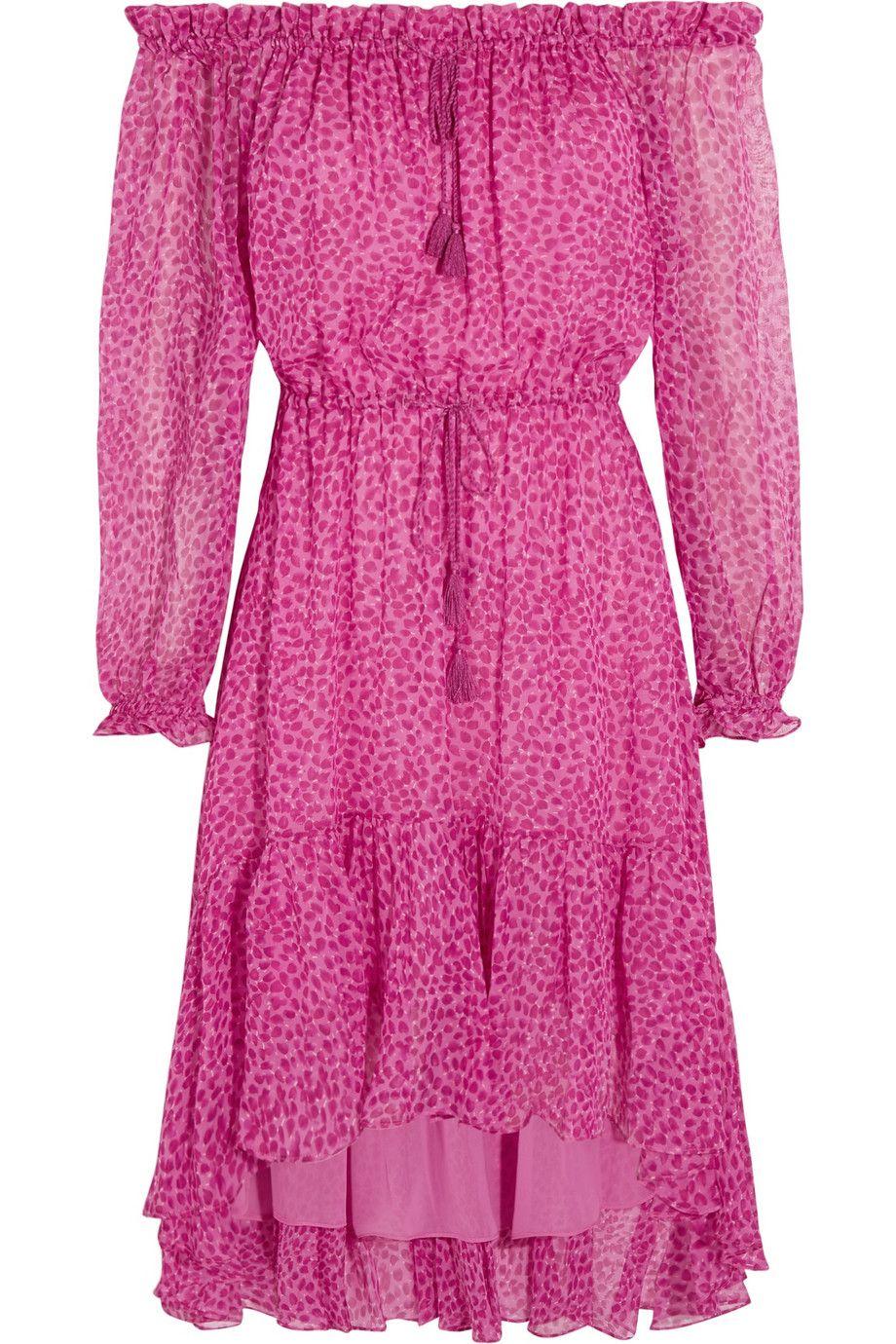 "Diane von Furstenberg Camila Printed Silk-Chiffon Dress, $470; &lt;a href=""http://www.net-a-porter.com/product/573149/Diane_von_Furstenberg/camila-printed-silk-chiffon-dress""&gt;net-a-porter.com&lt;/a&gt;   <!--EndFragment-->"