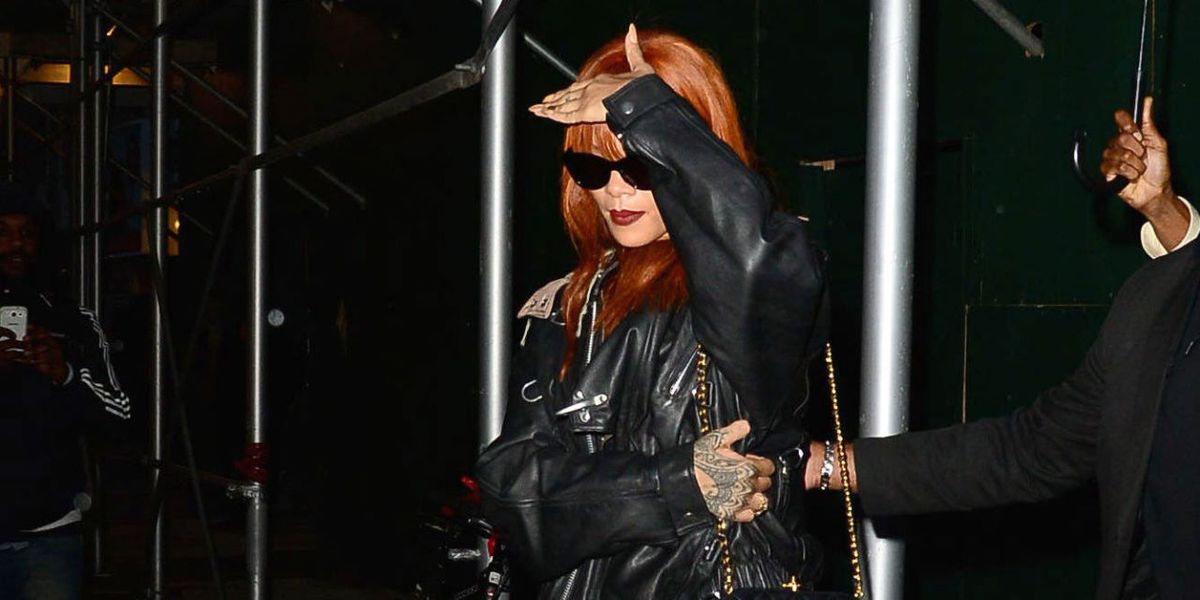 Rihanna Went on a Rainy Date Instead of Attending the CFDAs