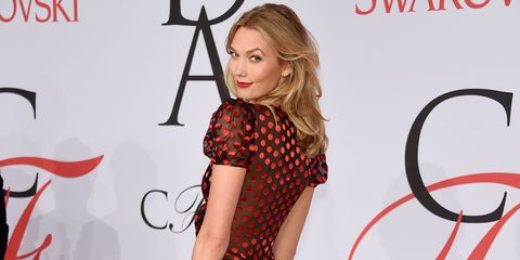Shoulder, Dress, Flooring, Red, Style, One-piece garment, Fashion, Eyelash, Pattern, Fashion model,