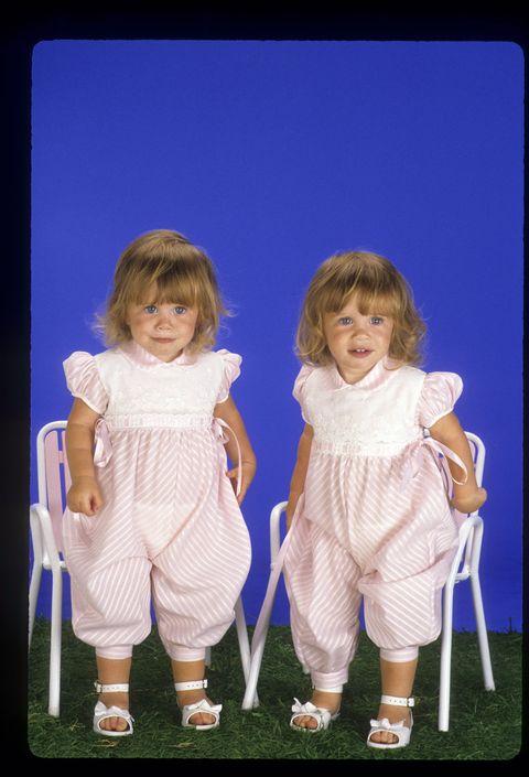 In a promotional portrait for <em>Full House</em>.