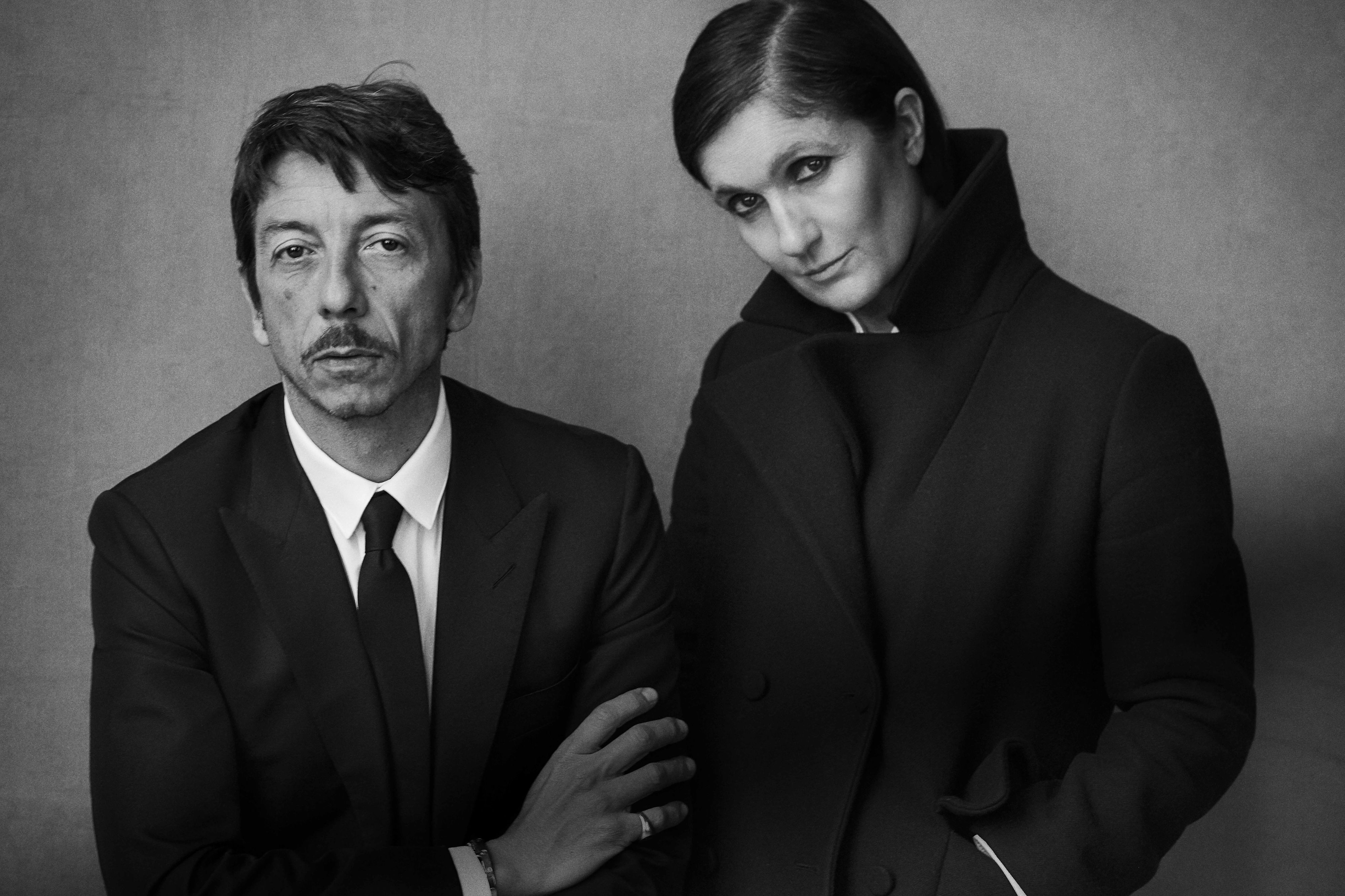 Valentino's Creative Directors Practice Their 'Blue Steel' Faces on the Regular