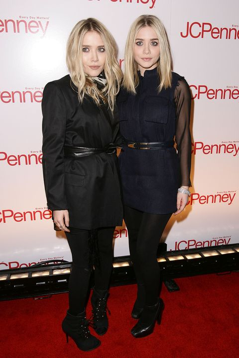 NEW YORK - MARCH 02:  Ashley Olsen and Mary-Kate Olsen attend the JCPenney best of Spring showcase at Alice Tully Hall, Lincoln Center on March 2, 2010 in New York, New York.  (Photo by Dario Cantatore/FilmMagic)