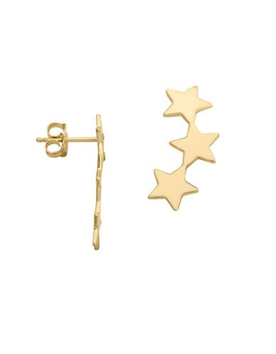 """<p>Lord &amp; Taylor 14k Yellow Gold Star Earring, $250; <a target=""""_blank"""" href=""""http://www.lordandtaylor.com/webapp/wcs/stores/servlet/en/lord-and-taylor/14k-yellow-gold-star-earring"""">lordandtaylor.com</a></p>"""