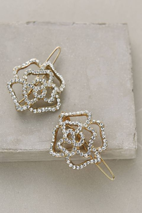 "Anthropologie Winding Rose Clip Set, $32; <a target=""_blank"" href=""http://www.anthropologie.com/anthro/product/accessories-hair/35244904.jsp#/"">anthropologie.com</a>   <!--EndFragment-->"