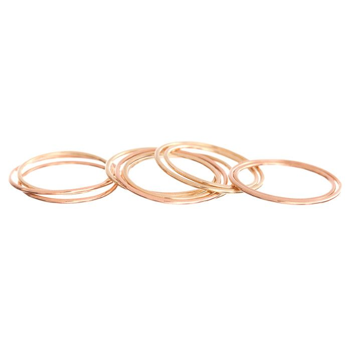 "<p>Ariel Gordon Paper Thin Rings (set of 3), $245; <a target=""_blank"" href=""http://www.arielgordonjewelry.com/collections/rings/products/paper-thin-rings"">arielgordon.com</a></p>"