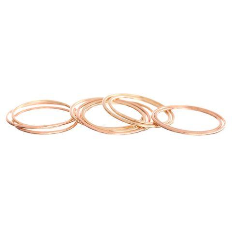 "<p>Ariel Gordon Paper Thin Rings (set of 3), $245; <a target=""_blank"" href=""http://www.arielgordonjewelry.com/collections/rings/products/paper-thin-rings"">arielgordon.com</a></p>"