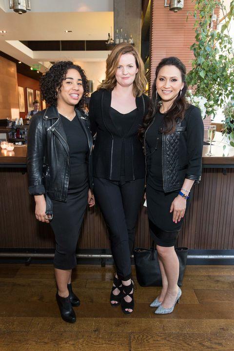 Lauren Jones, Maggie Bullock, Sarah Haider