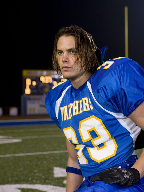 FRIDAY NIGHT LIGHTS -- Pilot -- Pictured: Taylor Kitsch as Tim Riggins -- Photo by: Paul Drinkwater/NBC/NBCU Photo Bank