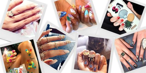 best celebrity nails celebrity nail colors and designs for summer