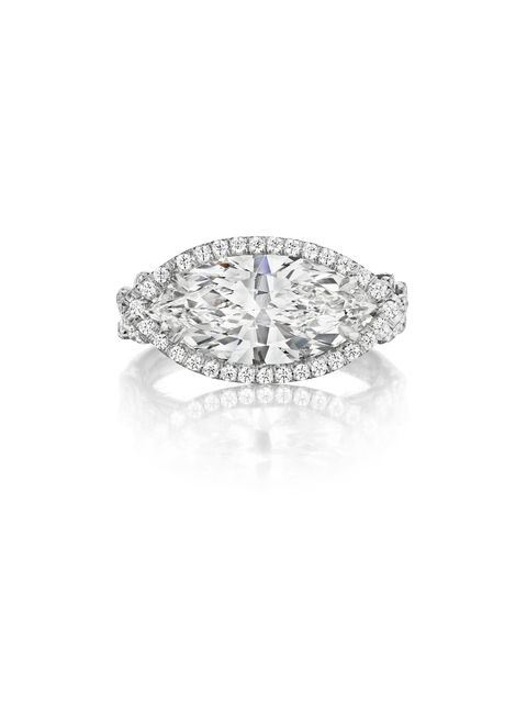 "<p>Leo Ingwer Samara Platinum and Diamond Engagement Ring, Price upon request; <a href=""http://www.leoingwer.com/"">leoingwer.com</a></p>"