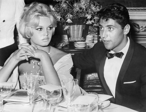 "Distel—who won an Academy Award for his famous cover of ""Raindrops Keep Falling on my Head""—had a brief affair with the buxom Bardot, which ended after she rejected his marriage proposal."
