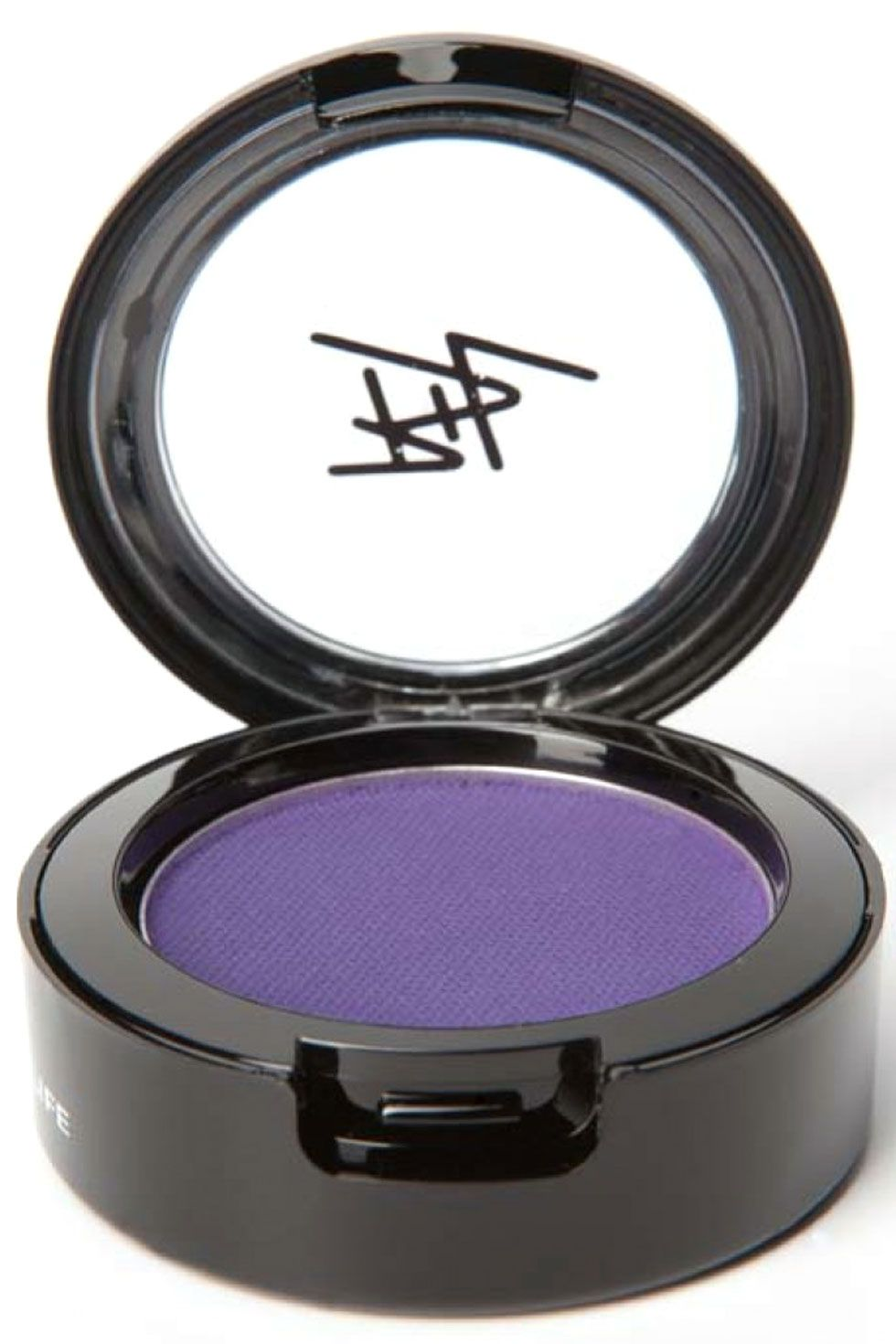"Beauty is Life Eyeliner Cake in Violet, $25&#x3B; <a target=""_blank"" href=""http://www.barneys.com/beauty-is-life-eyeliner-cake-500957881.html"">barneys.com</a>"