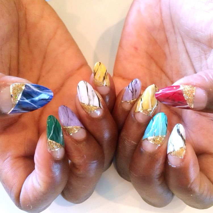 Best Celebrity Nails - Celebrity Nail Colors and Designs for Summer