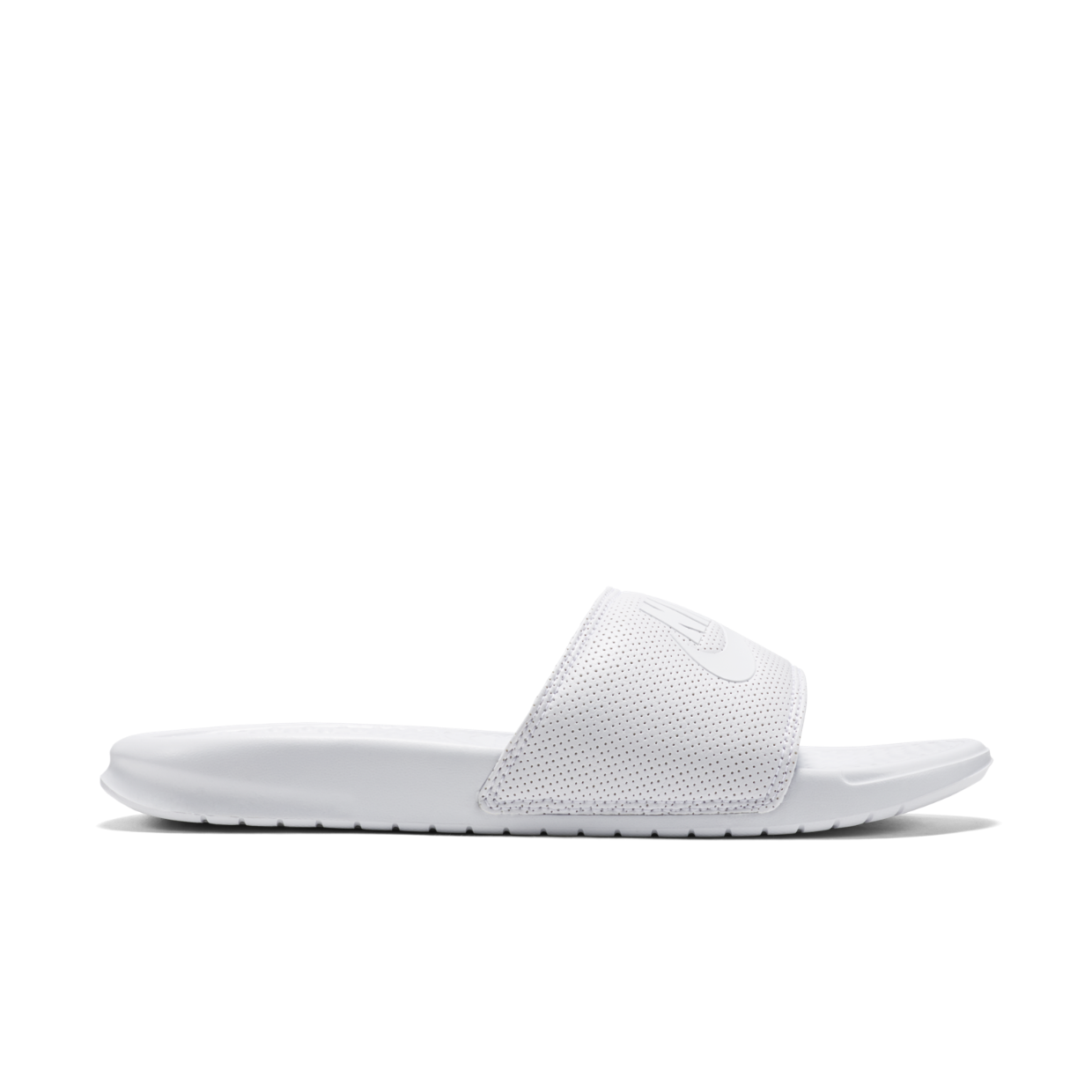 "Nike Benassi Just Do It, $40; <a href=""http://store.nike.com/us/en_us/pd/benassi-just-do-it-slide/pid-10293367/pgid-10937475"">nike.com</a>"