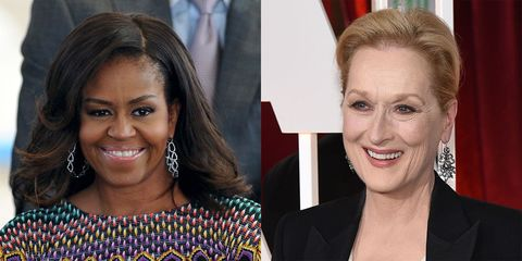 This Is What Happened When Michelle Obama Interviewed Meryl Streep