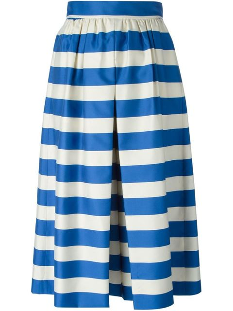 "Alice + Olivia Striped Culottes, $408; <a href=""http://www.farfetch.com/shopping/women/aliceolivia-striped-culottes-item-11021990.aspx?storeid=9214&ffref=lp_21_5_"">farfetch.com</a>"