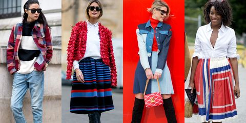 Eyewear, Vision care, Glasses, Sleeve, Red, Textile, Pattern, Outerwear, Sunglasses, Style,