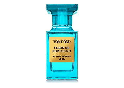 """""""I wear Neroli Portofino during the in winter, but <a target=""""_blank"""" href=""""http://www.tomford.com/fleur-de-portofino/T3-FLEUR.html"""">Tom Ford Fleur De Portofino</a>, a floral update on my cold weather favorite, is perfect for summer. It smells so damn good and fresh and crisp."""" -Leah Chernikoff, Editorial Director"""