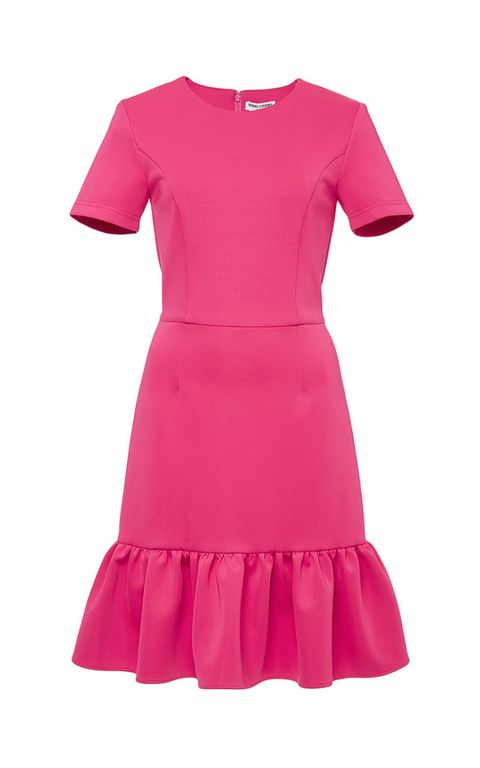 "Opening Ceremony Lotus Dropped Ruffle Dress, $395; <a href=""https://www.modaoperandi.com/opening-ceremony-pf15/pink-lotus-dropped-ruffle-dress"">modaoperandi.com</a>"
