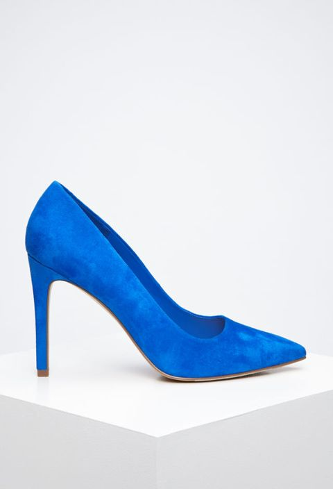 "Forever 21 Pointed Faux Suede Pumps, $20; <a href=""http://www.forever21.com/Product/Product.aspx?BR=f21&Category=shoes_high-heels&ProductID=2000167247&VariantID="">forever21.com</a>"
