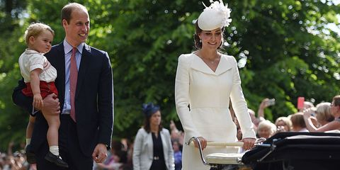 All the Photos From Princess Charlotte's Royal Christening