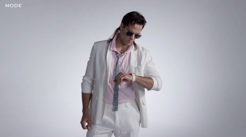 See 100 Years of Men's Fashion in 3 Minutes