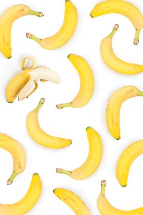 "<p>Everyone knows bananas are full of potassium, but what you may not know is that they also contain tryptophan, a brain chemical that helps to regulate mood, according to<a target=""_blank"" href=""http://bottomlinehealth.com/feeling-blue-try-bananas/""> Dr. Ara DerMarderosian, research professor at University of the Sciences</a>. Bananas are also a good source of B vitamin folate, and having low levels of the vitamin has been linked to depression.</p><p>For recipes starring bananas, try <a target=""_blank"" href=""http://www.delish.com/cooking/recipe-ideas/g2781/banana-ice-cream/"">20 Crazy Twists on Frozen Banana Ice Cream</a>.</p>"