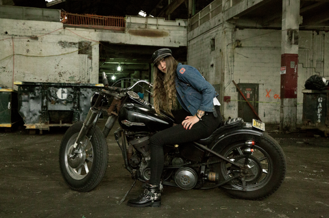 <p>Nina Kaplan, Brooklyn, grew up around motorcycles in Northern California. Her father taught her how to ride.<span></span></p><p><em></em></p>
