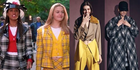 """<em>Clueless</em> was all the affirmation I needed to overcommit and undercare about what people thought about my look. Those girls and guys were '90s style mash-up renegades, and I loved it!""   <!--EndFragment-->"