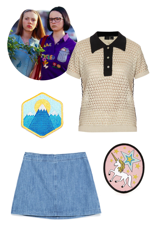 "<p>Rachel Comey Decorative Crochet Polo, $390&#x3B; <a href=""http://www.matchesfashion.com/us/products/Rachel-Comey-Decorative-crochet-polo--1017712"">matchesfashion.com</a></p><p>Zara Denim Skirt, $26&#x3B; <a href=""http://www.zara.com/us/en/collection-aw15/woman/skirts/denim-skirt-c269188p2776900.html"">zara.com</a></p><p>Mokuyobi Threads Mountain Iron-On Patch, $5&#x3B; <a href=""http://www.urbanoutfitters.com/urban/catalog/productdetail.jsp?id=31001423t&category=BRANDS"">urbanoutfitters.com</a></p><p>Rosie Wonders Unicorn Sew On Patch, $14&#x3B; <a href=""http://us.asos.com/Rosie-Wonders-Unicorn-Sew-On-Patch/16tlf7/?iid=5622724&clr=Multi&SearchQuery=patch&pgesize=36&pge=0&totalstyles=139&gridsize=3&gridrow=4&gridcolumn=1&mporgp=L3Jvc2llLXdvbmRlcnMvcm9zaWUtd29uZGVycy11bmljb3JuLXNldy1vbi1wYXRjaC9wcm9kLw.."">asos.com</a></p>"