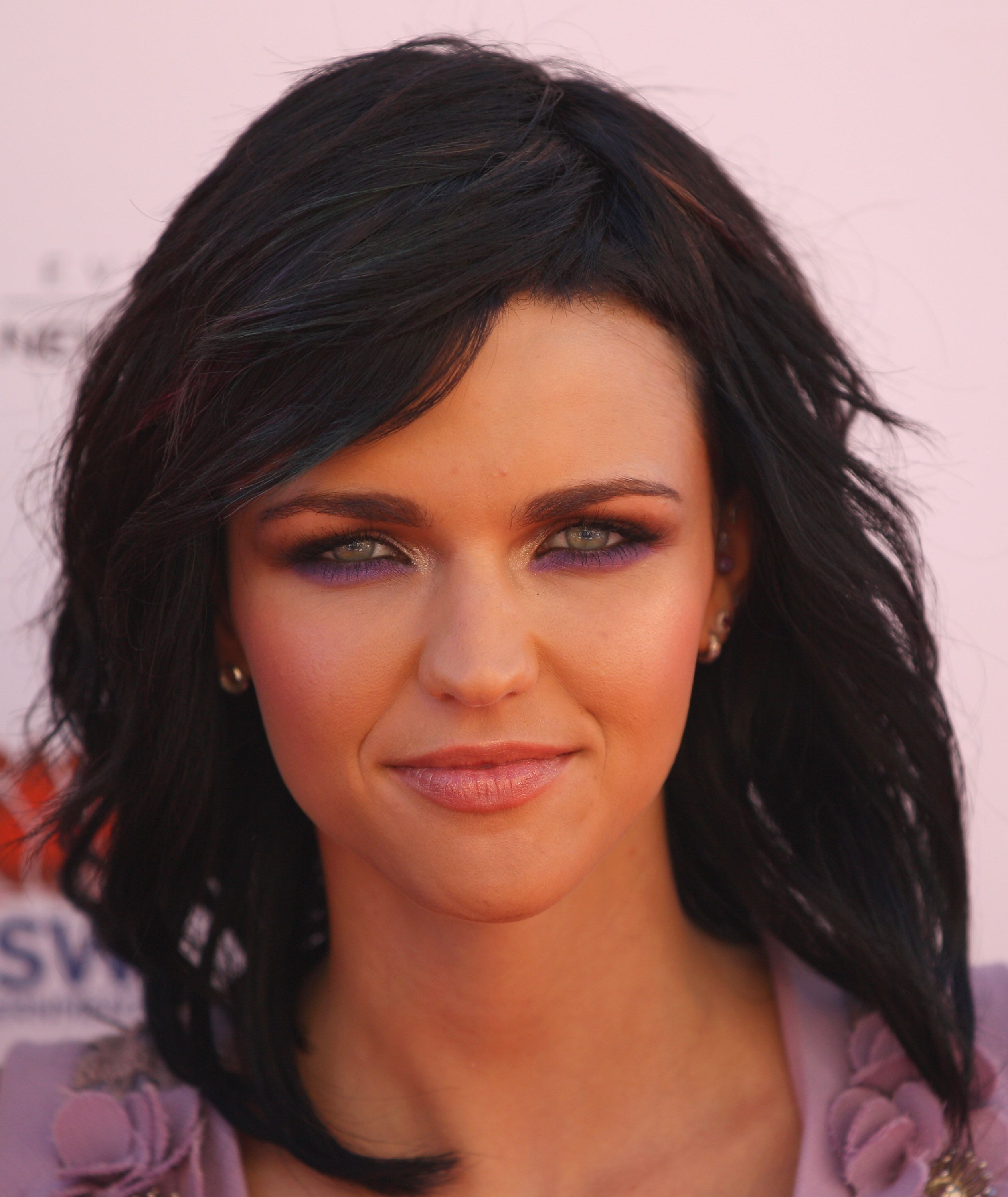 ruby rose long and short hair, beauty and makeup looks, tattoos