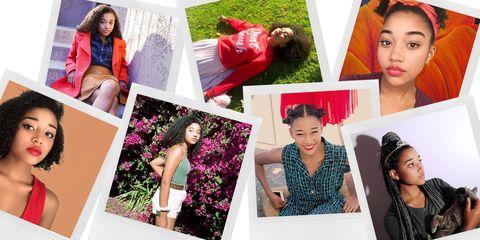 Human, Photograph, Petal, Collage, Purple, Dress, Beauty, Eyelash, Lipstick, Photography,