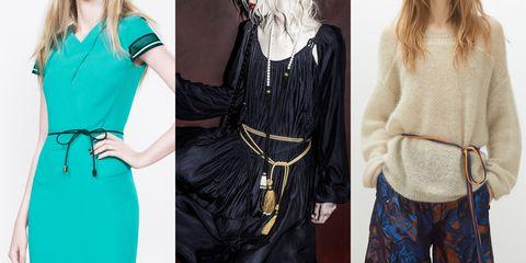 Sleeve, Textile, Style, Fashion, Neck, Black, Teal, Blond, Waist, Day dress,
