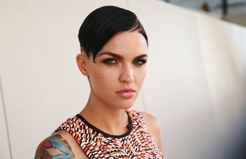 Ruby Rose Long And Short Hair Beauty And Makeup Looks Tattoos And More