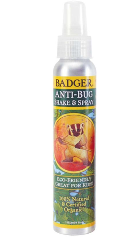 "<p>Badger Anti-Bug Shake & Spray, $12; <a href=""http://www.badgerbalm.com/p-465-anti-bug-shake-spray.aspx"">badgerbalm.com</a></p><p>For those who love the lemony smell of citronella, this one's for you—it's the most discernible scent in an herbaceous blend that also includes rosemary, peppermint, and cedar. </p>"