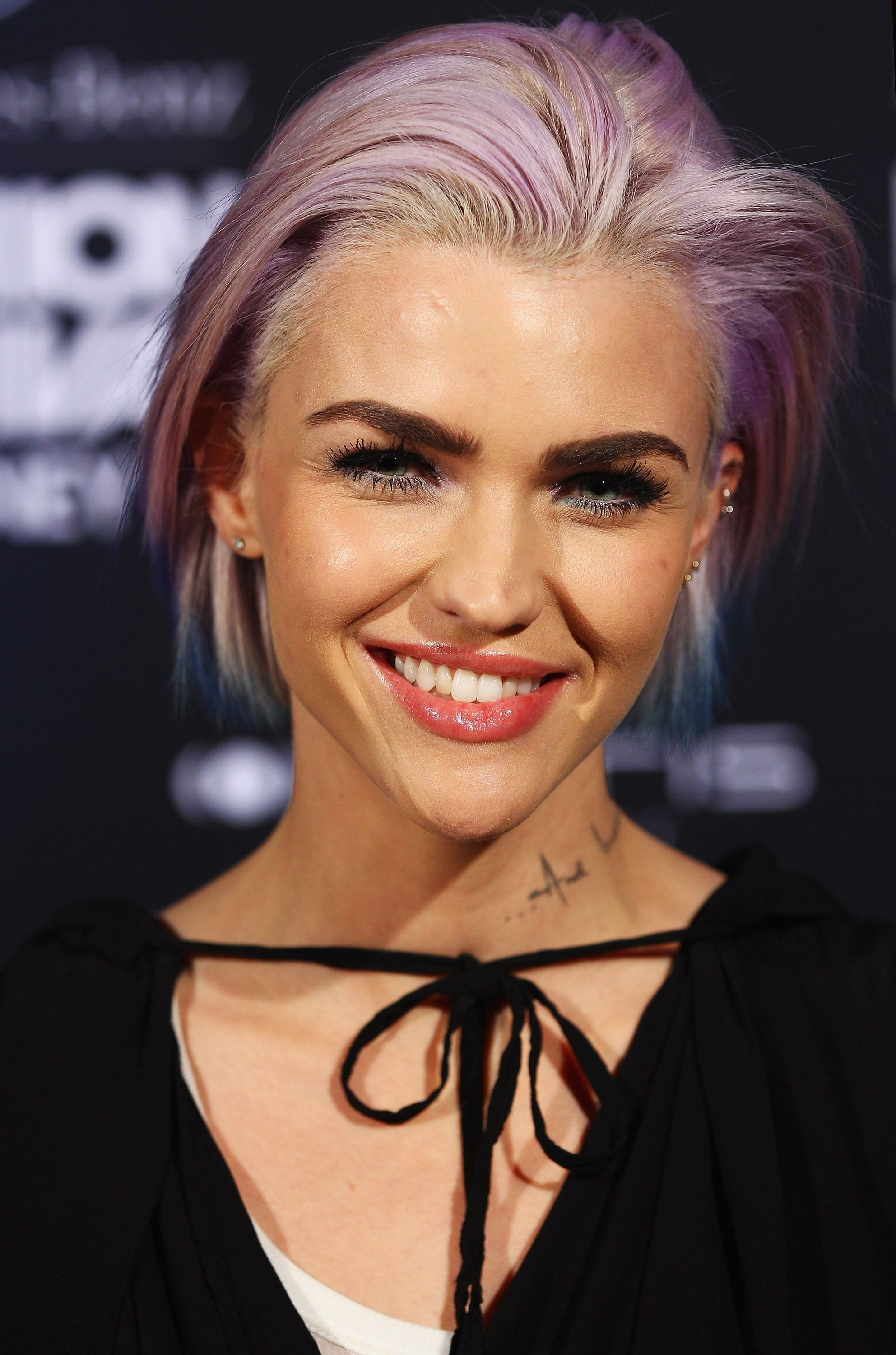Ruby Rose Long And Short Hair Beauty Makeup Looks Tattoos More