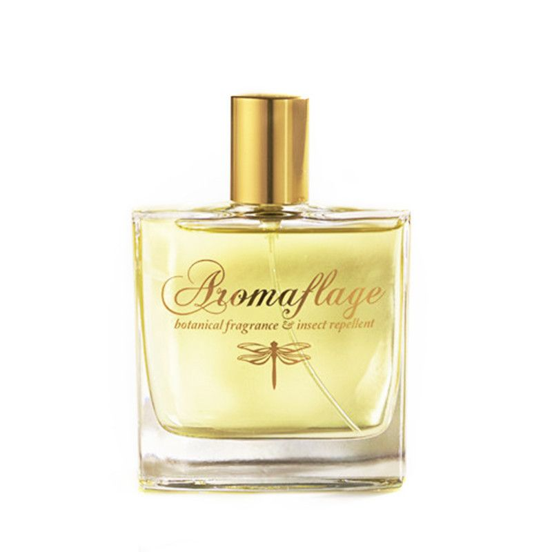 "<p>Aromaflage Botanical Fragrance and Insect Repellent, $65; <a href=""http://www.aromaflage.com/collections/all/products/aromaflage-botanical-fragrance-insect-repellent"">aromaflage.com</a></p><p>Aside from its dainty dragonfly emblem, you'd never know this chic perfume is bug-related—especially after getting a whiff of its sweet and summery blend of vanilla, citrus, and cedarwood. But those very essential oils are what keep the mosquitoes away, mimicking a practice that's been the norm in tropical climes like Southeast Asia for centuries. A modern-day bonus? This formula also comes in <a href=""http://www.aromaflage.com/collections/all/products/aromaflage-candle-pre-orders-your-now-for-june-delivery"">candle form</a>, which turns into a wine glass after the wax has burned away.</p>"