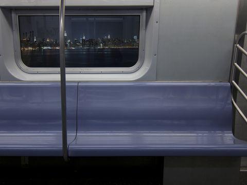 Transport, Glass, Fixture, Public transport, Grey, Parallel, Composite material, Transparent material, Gas, Rectangle,