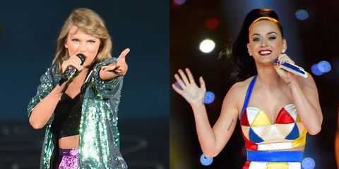 Taylor Swift Throws Some Left Shark Shade at Katy Perry